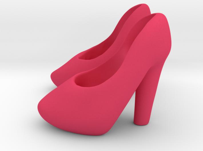 Super High Chunky Heels 3d printed