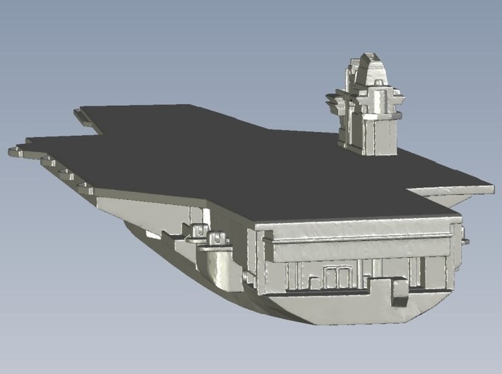 1/2400 scale USS Forrestal CV-59 aircraft carriers 3d printed