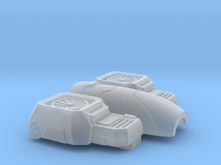 Tetrajet Chest Replacement 3d printed