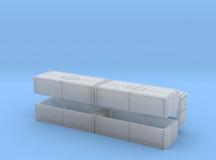 Mexeflote additional pontons 1/200 3d printed