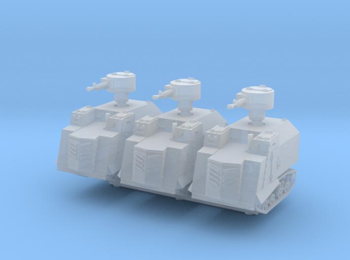 NI Odessa Type 2 Tank (x3) 1/200 3d printed