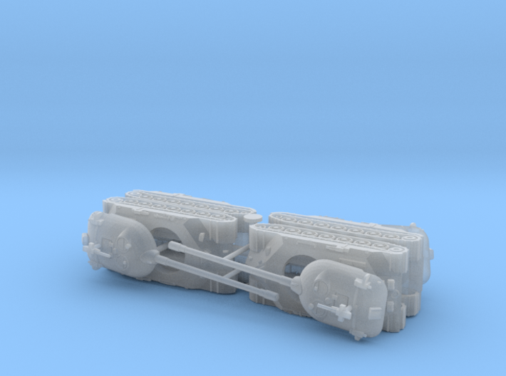 Russian IS-7 Heavy Tank 1/200 3d printed