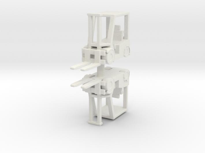 Hyster H60 Forklift USN (x2) 1/144 3d printed