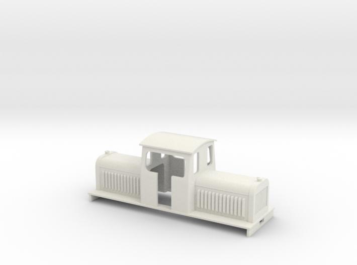 On16.5 long centercab diesel loco 3d printed