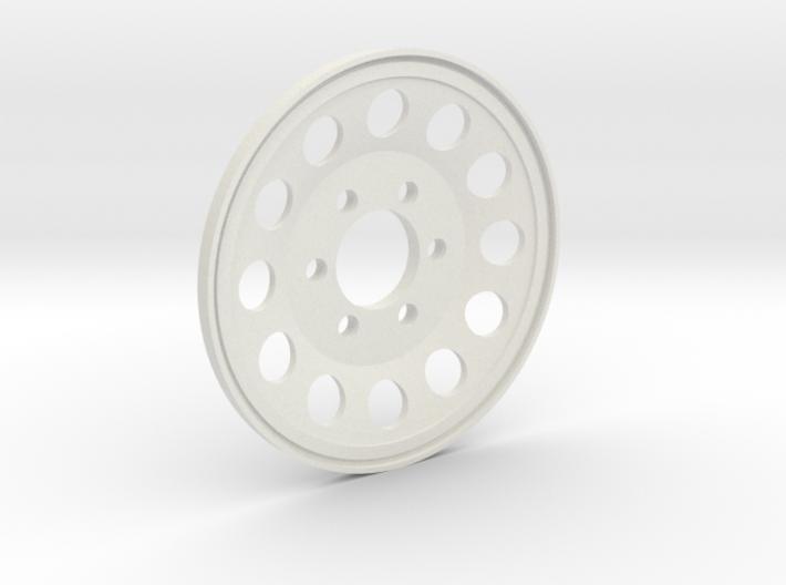 GCM 1.9 BLANK - 12 Hole 6Lug 3d printed