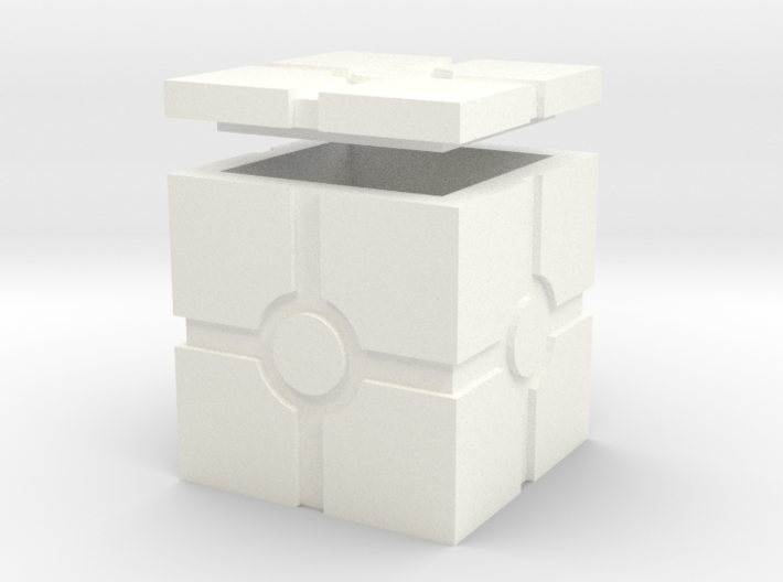 Hollow Iconic Box, Squared 3d printed