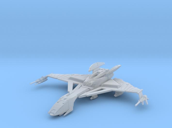 Klingon Hegh' ta Class Bird of Prey (Flight) 3d printed