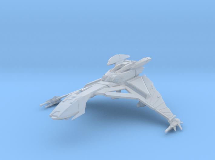 Klingon Hegh' ta Class Bird Of Prey (Attack Mode) 3d printed