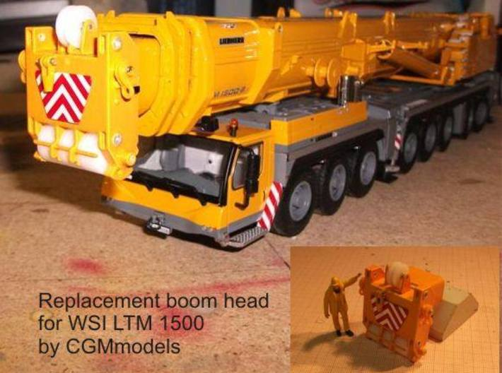 Ltm1500 Boom Head 50mt telescoping 3d printed Add a caption...