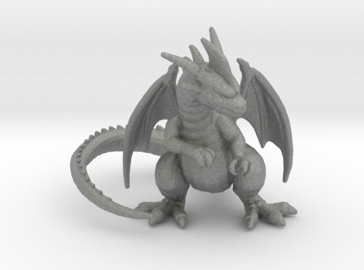 Red Dragon 6mm monster Infantry miniature model 3d printed