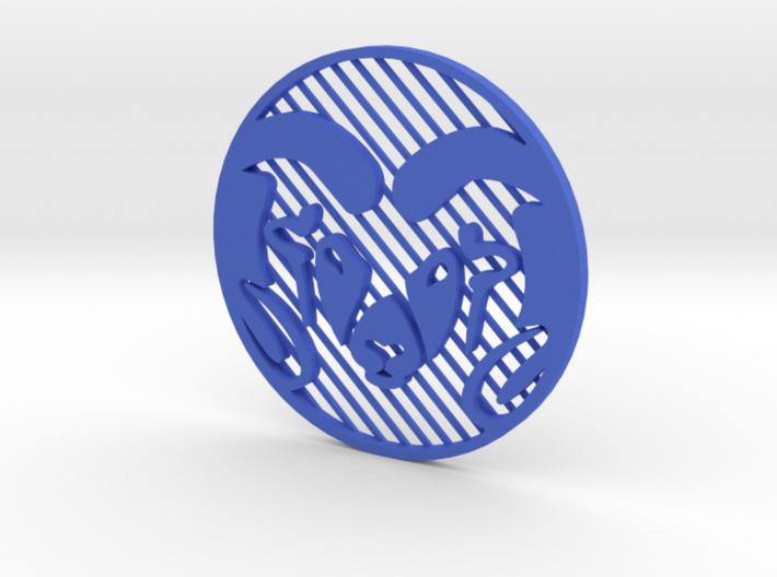 "CSU Ram (Inverted) [3""] 3d printed"