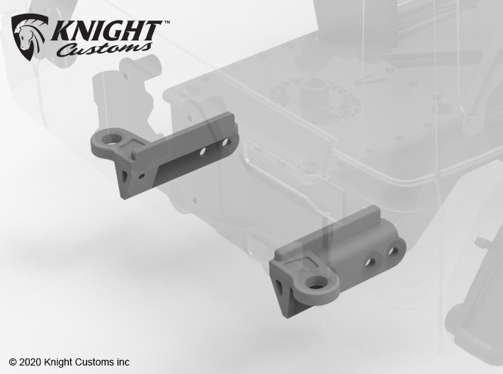 VP20006 VS4 Pro JL body Mount set 3d printed