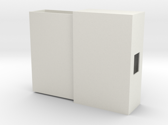 Slide-out Cigarette Case 3d printed