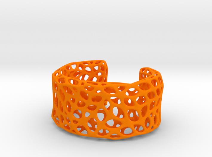 Cells Cuff (Size L) 3d printed