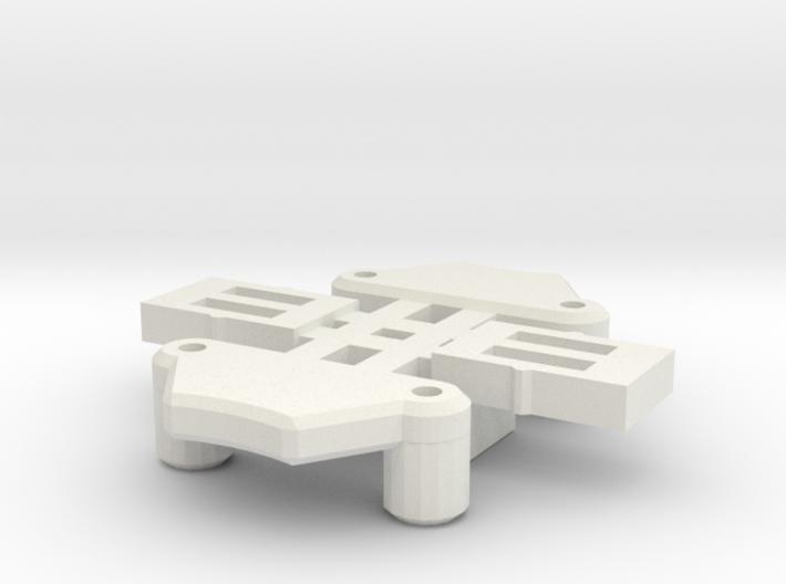 GT Chip Lock Parts 3d printed