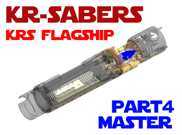 KRS Flagship - Master Chassis Part4 3d printed