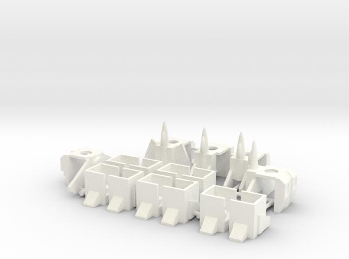 Armor for Aerialbot Kreons (Set 1 of 2) 3d printed