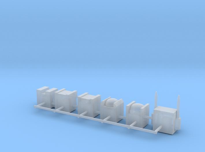 Heads for Aerialbot Kreons (Set 2 of 2) 3d printed
