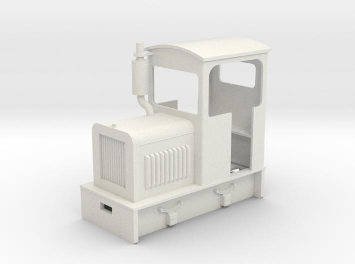 35:1 scale diesel Loco 3d printed
