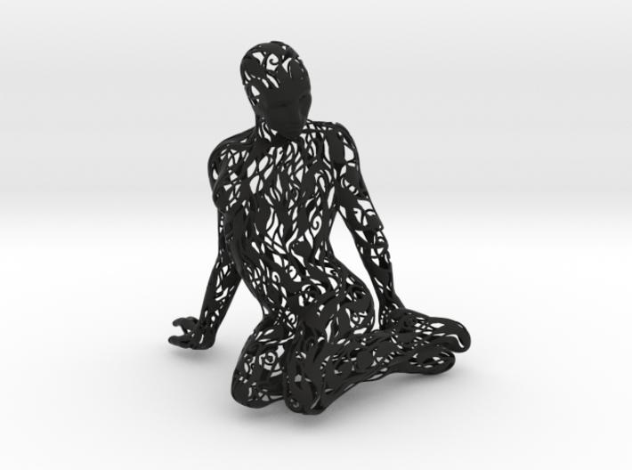 Kneeling Woman 3d printed