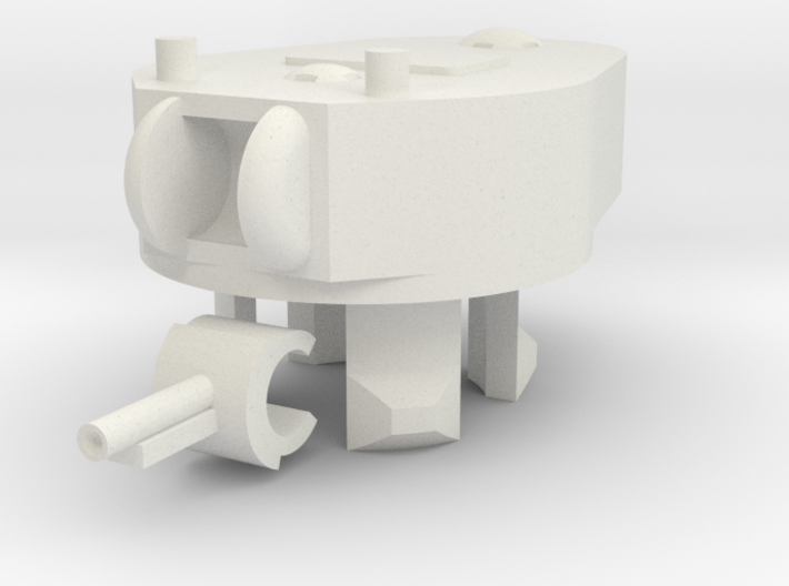 1/100 KT-3A Turret 3d printed