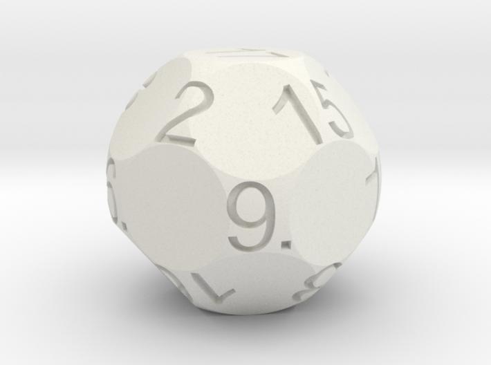 D17 Sphere Dice 3d printed