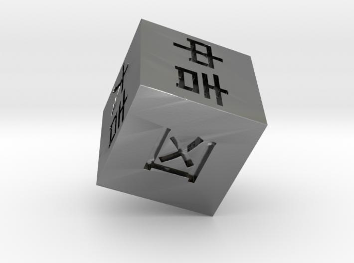 Omikuji Dice 3d printed