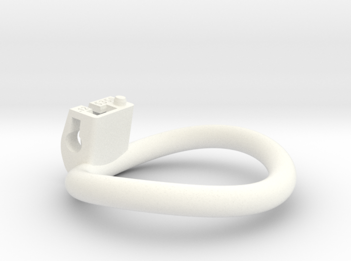 Cherry Keeper Ring - 53x50mm Wide Oval -12°~51.5mm 3d printed