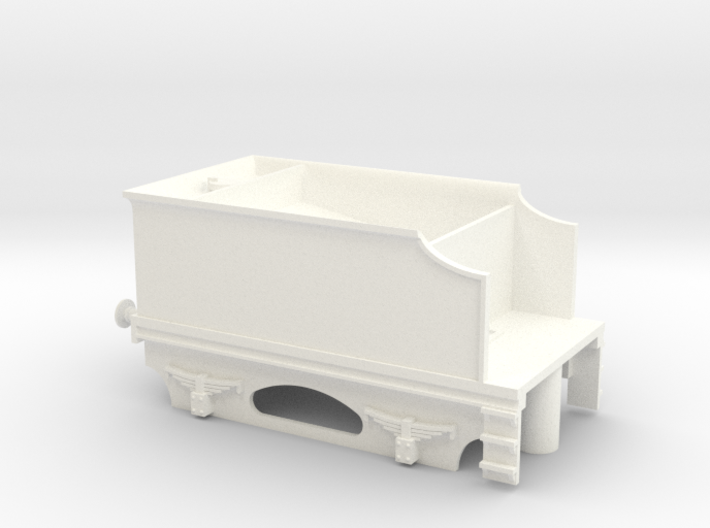 4 Wheel Tender Without Coal 3d printed