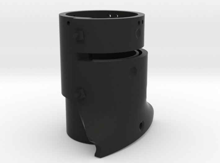 Ned Kelly Gang Outlaw Beer Can or Pencil Holder 3d printed