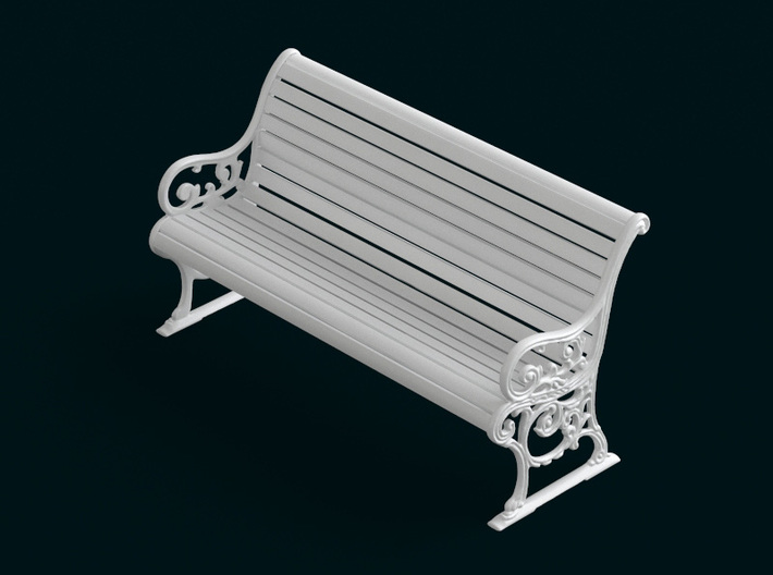 1:10 Scale Model - Bench 03 3d printed