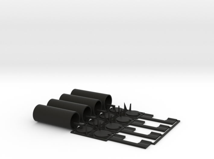 TankTainer2 - Set of 4 - Zscale 3d printed