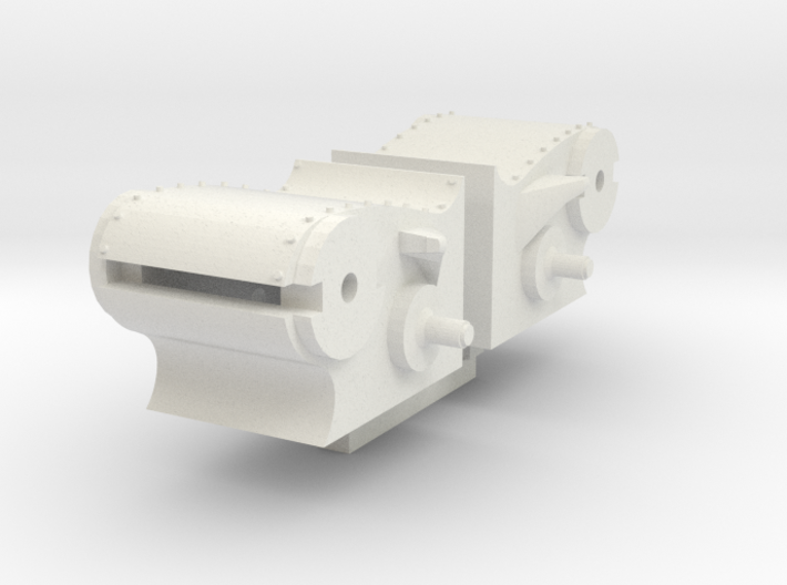 NS 3900 cilinders compleet 87 3d printed
