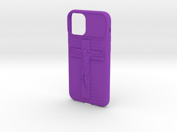 IPhone 11 Pro Jesus on Cross Case 3d printed