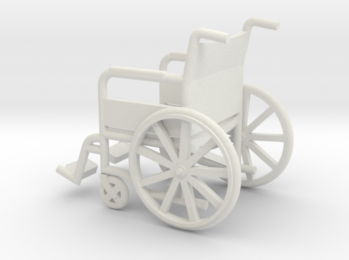 1:18 Wheelchair 3d printed