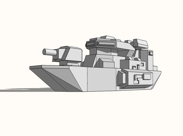 """Warshark"" Assault Boat 6mm 3d printed"