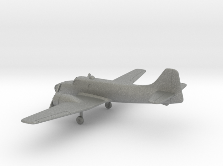 Fokker S.13 Universal Trainer 3d printed