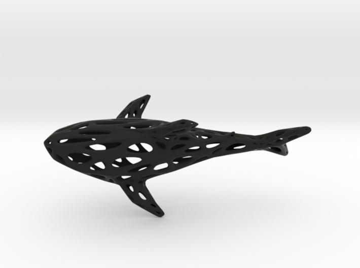 Big Digital Shark - 30cm 3d printed