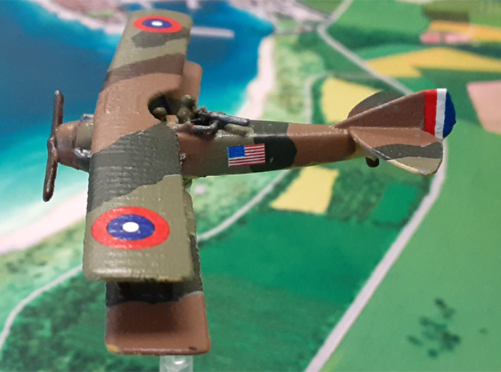 SPAD 11 (various scales) 3d printed Photo and paint job courtesy Bill59