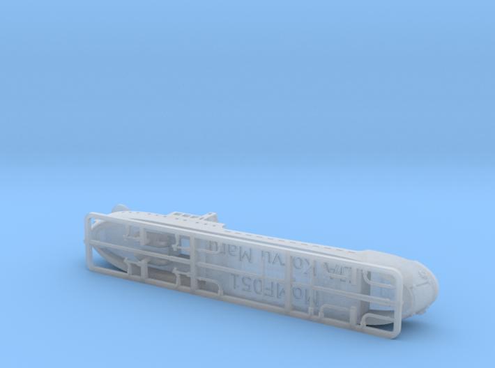 IJA Koryu Maru SS-1 Landing Ship Tank 1/700 3d printed