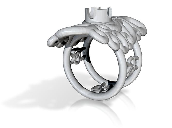 Bone ring 3 3d printed