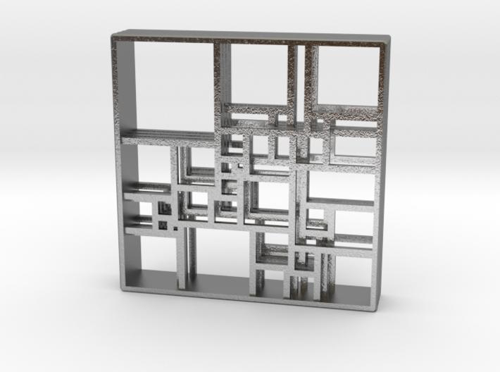 SPSS Isomer Quadruple 33-476 (version 2) 3d printed