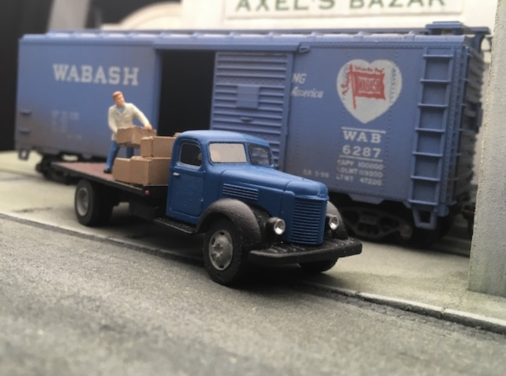 International Harvester IH K-B8 1948 - Ho 1:87 3d printed