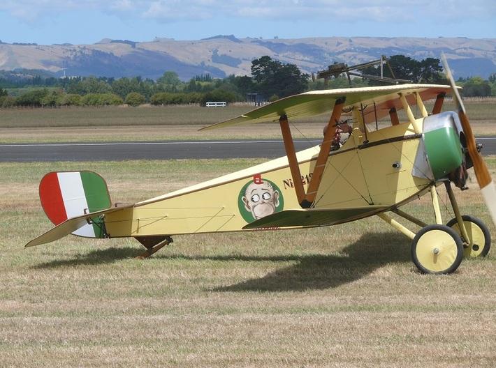 Nameplate Nieuport 11 3d printed