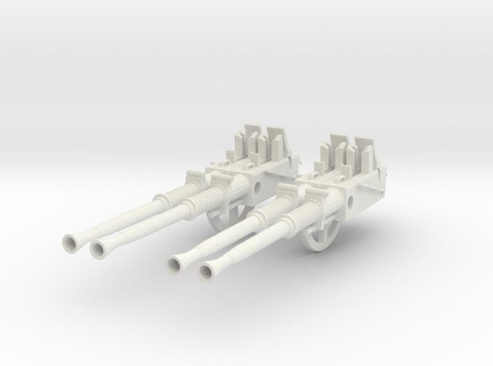1/6 USN 40mm Quad Bofors Barrels Set v2 3d printed