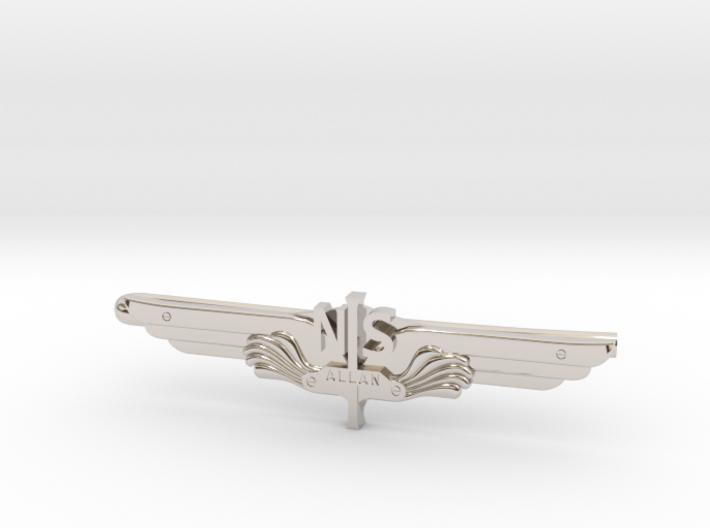 Allan Vleugel - Tie Clip 3d printed