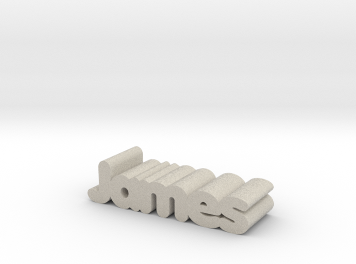 James 3d printed