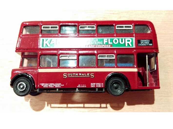 Orion Double Decker Bus Sliding Window Vents OO/HO 3d printed