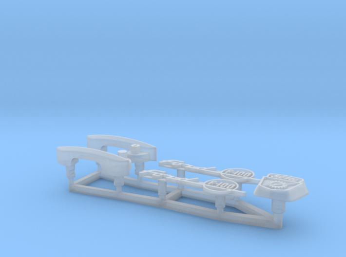 AS2018-01 Axial SCX10 II Ford F100 Body Trim 3d printed