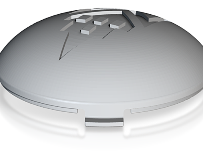Ollie Dome Hubcap ME 3d printed